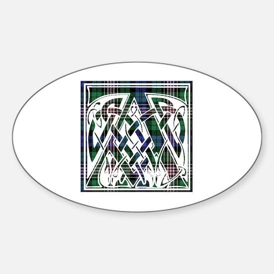 Monogram - Alison Sticker (Oval)