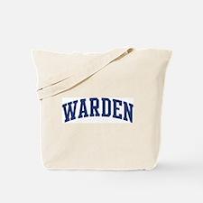 WARDEN design (blue) Tote Bag
