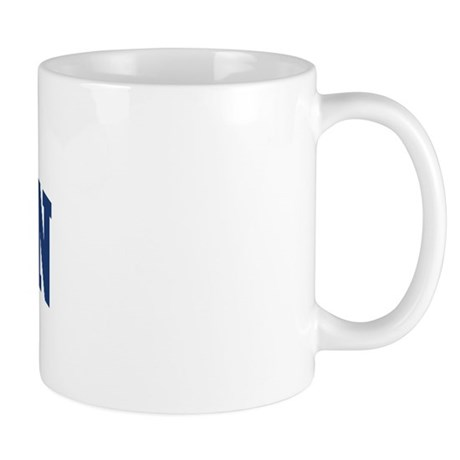 Warden design blue mug by surnamealot for Blue mug designs