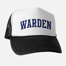 WARDEN design (blue) Trucker Hat