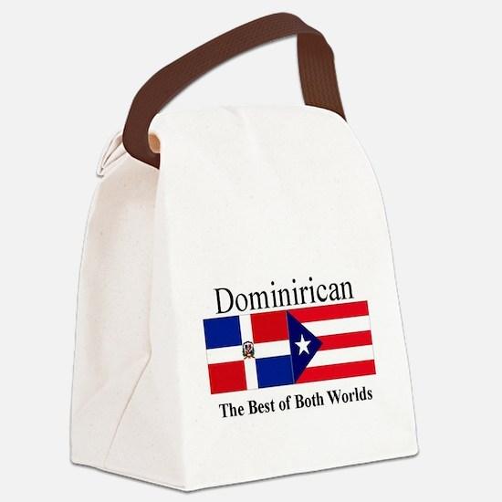 Dominirican.jpg Canvas Lunch Bag