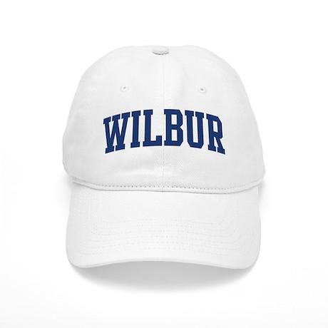 WILBUR design (blue) Cap