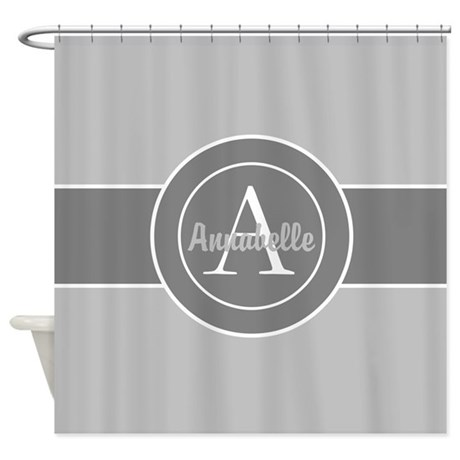 Light Grey Shower Curtains