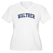 WALTHER design (blue) T-Shirt