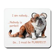 Nobody's Perfect Mousepad
