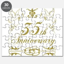 35th Wedding Anniversary Puzzle