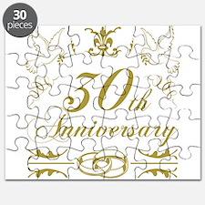 30th Wedding Anniversary Puzzle