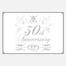 30th Wedding Anniversary Banner