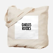 Carlos Rocks Tote Bag