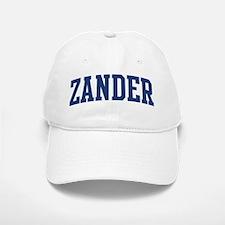 ZANDER design (blue) Baseball Baseball Cap