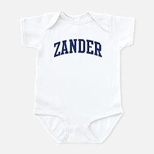 ZANDER design (blue) Infant Bodysuit