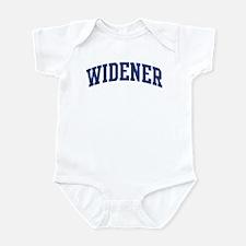 WIDENER design (blue) Infant Bodysuit