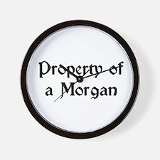 Property of a Morgan Wall Clock