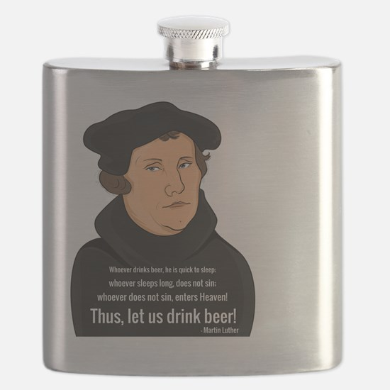 Cute Martin luther Flask