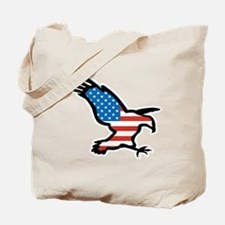 Patriotic Eagle Tote Bag