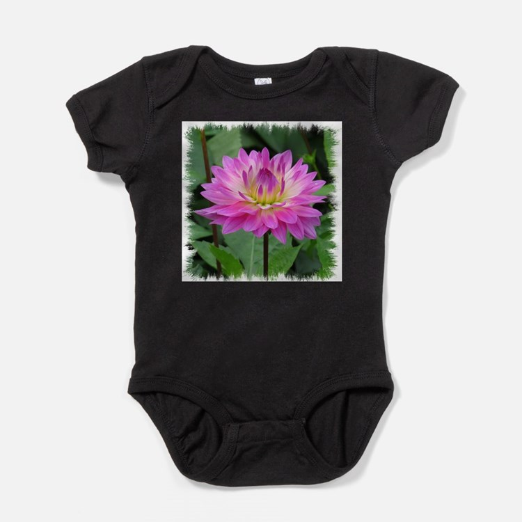 Cute Flower picture Baby Bodysuit