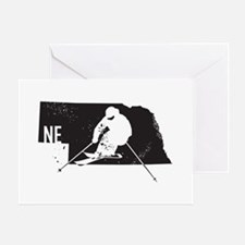 Ski Nebraska Greeting Card