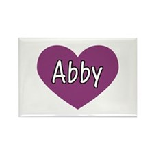 Abby Rectangle Magnet (100 pack)