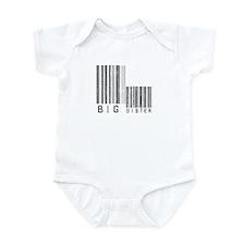 Big Sister Barcode Infant Bodysuit