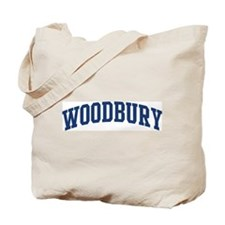 WOODBURY design (blue) Tote Bag