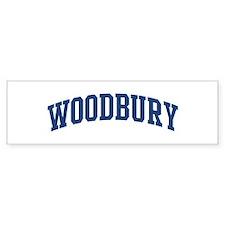 WOODBURY design (blue) Bumper Bumper Sticker