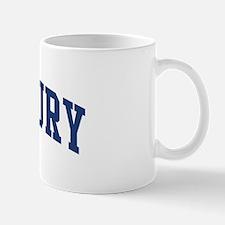 WOODBURY design (blue) Mug