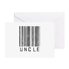 Uncle Barcode Greeting Card