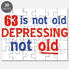 63 is not old depressing not old Puzzle