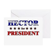 HECTOR for president Greeting Card