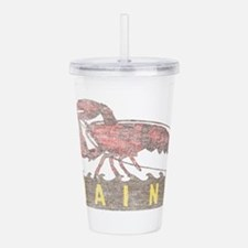 Vintage Maine Lobster Acrylic Double-wall Tumbler