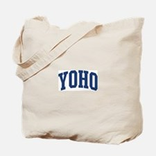 YOHO design (blue) Tote Bag