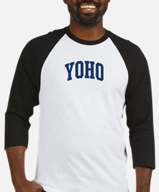 YOHO design (blue) Baseball Jersey
