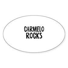 Carmelo Rocks Oval Decal