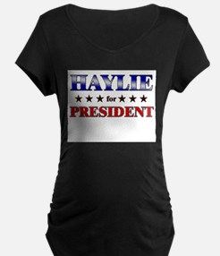 HAYLIE for president T-Shirt