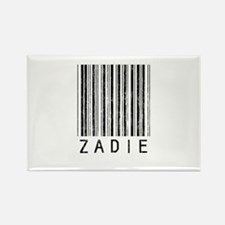 Zadie Barcode Rectangle Magnet