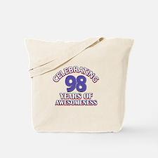 Celebrating 98 Years Tote Bag