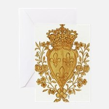 Royal Arms of France in Or Greeting Cards