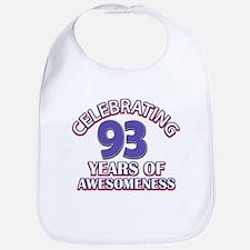 Celebrating 93 Years Bib