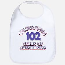 Celebrating 102 Years Bib