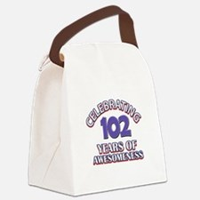 Celebrating 102 Years Canvas Lunch Bag