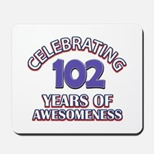 Celebrating 102 Years Mousepad