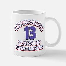 Celebrating 13 Years Mug