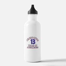 Celebrating 13 Years Water Bottle