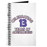 13th birthday Journals & Spiral Notebooks
