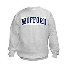 WOFFORD design (blue) Sweatshirt