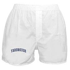 YARBROUGH design (blue) Boxer Shorts
