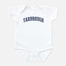 YARBROUGH design (blue) Infant Bodysuit