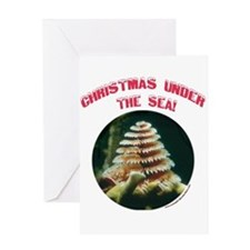 Christmas Under The Sea Greeting Card