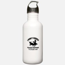 I Didn't Choose Team R Water Bottle