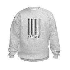 Meme Barcode Sweatshirt